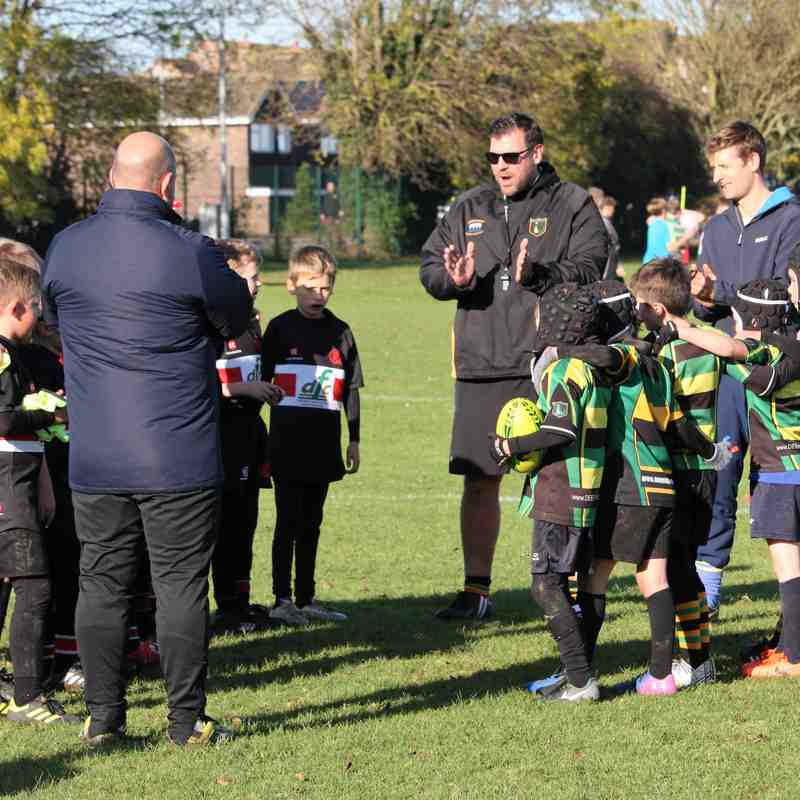 U9 Dragons vs Oundle Oct 2017
