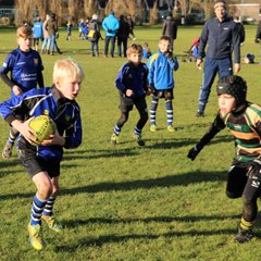 U9 Dragons vs St Ives Dec 17