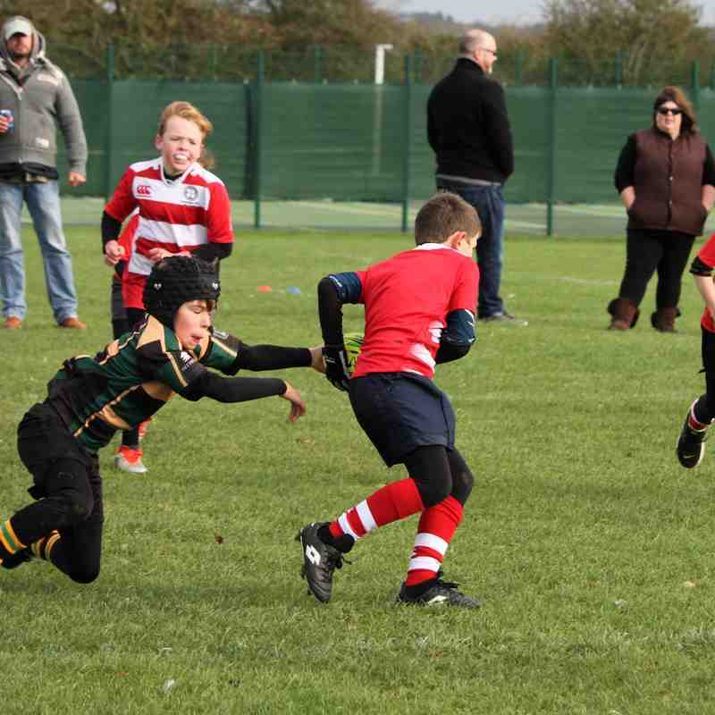 U9 Dragons vs StoneyGate Oct 17