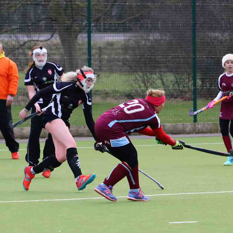 BDHC Ladies 3 vs Spalding March 2018