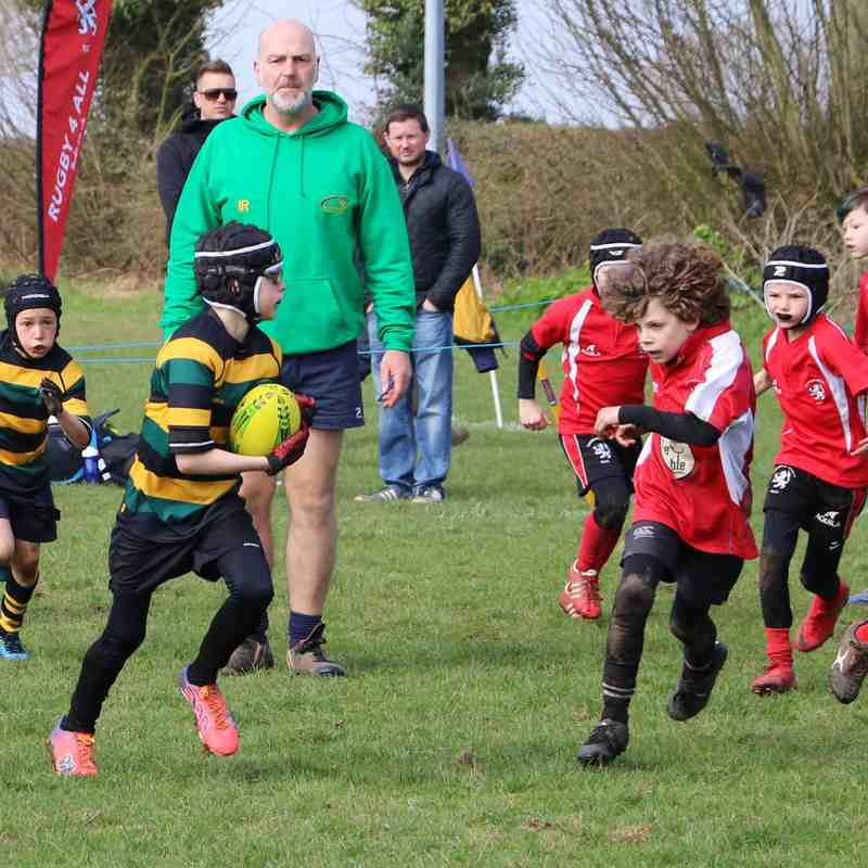 U9 Dragons Holt Festival April 2018
