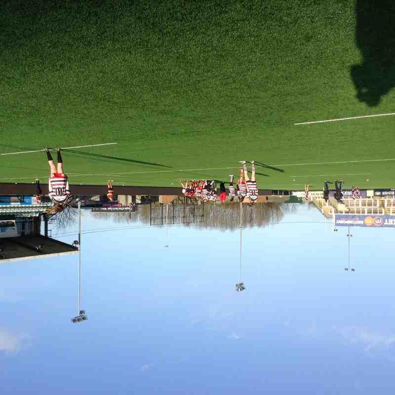 U15s & U13s girls at Kingston Park (20/12/15)
