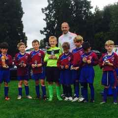 Stratford Town Tournament Runners up.