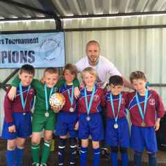 Under 8's Studley tournament runners up
