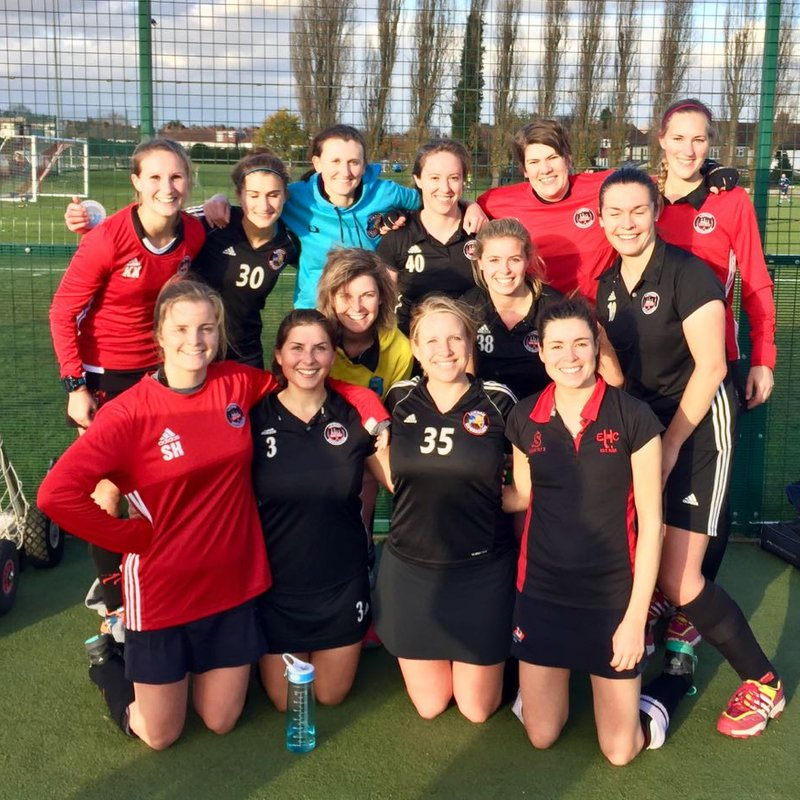 Ladies' 2nd XI beat Sunbury and Walton Hawks 1 4 - 1