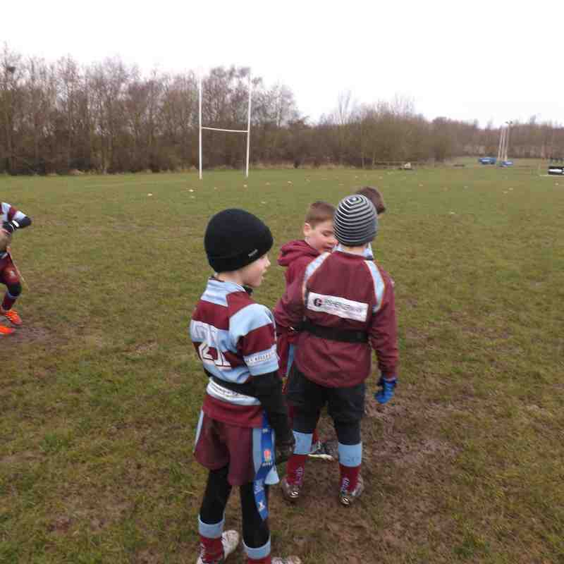 Ashby U7's at home to Lutterworth 6th March 2016