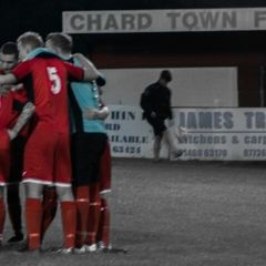 Chard Town 0 - 3 Wellington