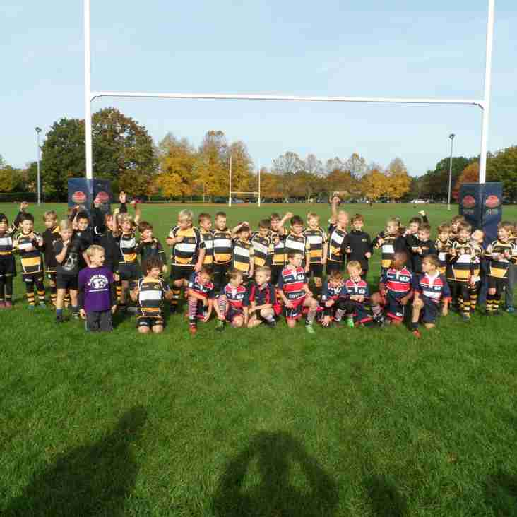 Training Sunday 25th October with Staines RFC