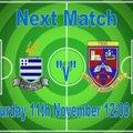 1st Team lose to Redbridge FC 3 - 1