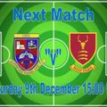 1st Team lose to West Essex FC 2 - 5