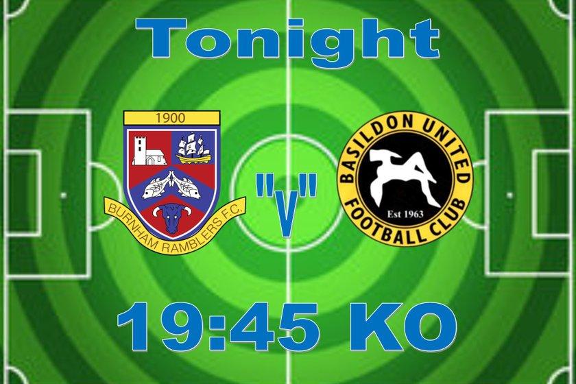1st Team lose to Basildon United 1 - 2
