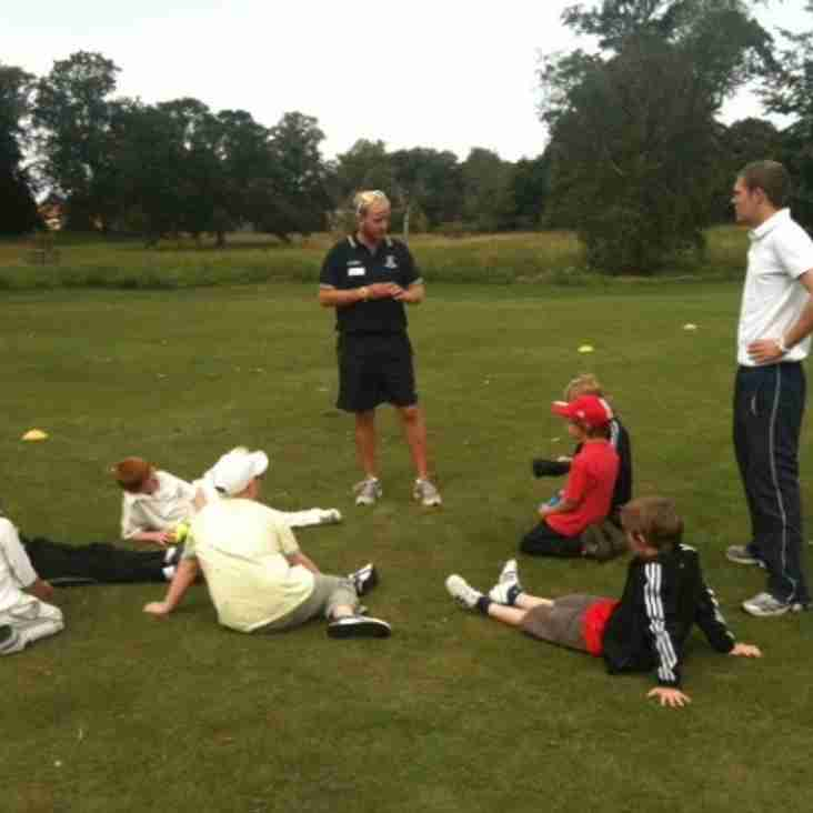 Under 12's thrash Snettisham by 35 runs