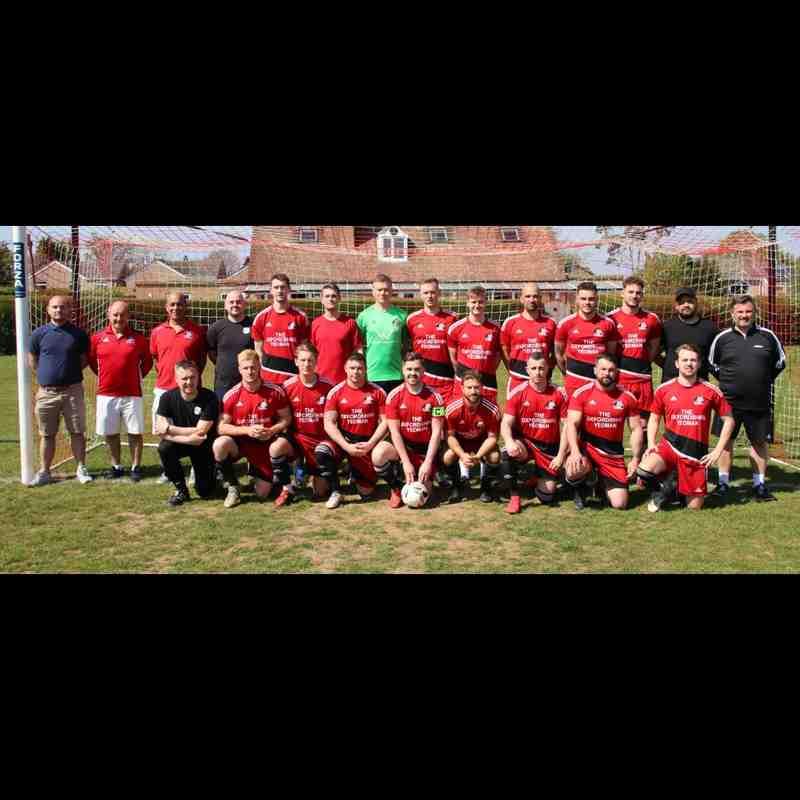 Senior League Champions 2018/19