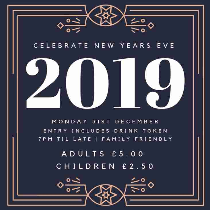 NYE Party at Aston Old Edwardians Rugby Club