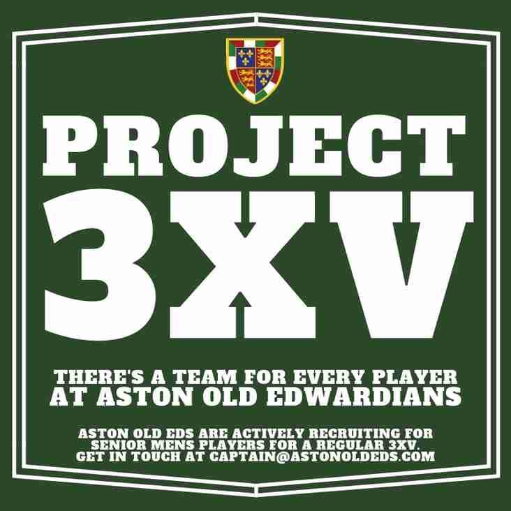 Project 3XV