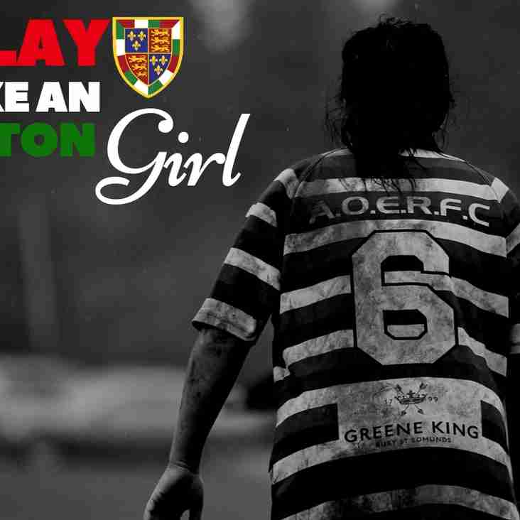 Play Like An Aston Girl #ThisGirlCan