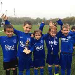 Canton under 7s enjoy a wet winning day