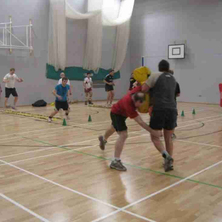 Senior Training Thursday 4th February 7pm - 8.00pm