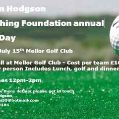 Robin Hodgson Coaching Foundation Annual Golf Day - Friday 15th July