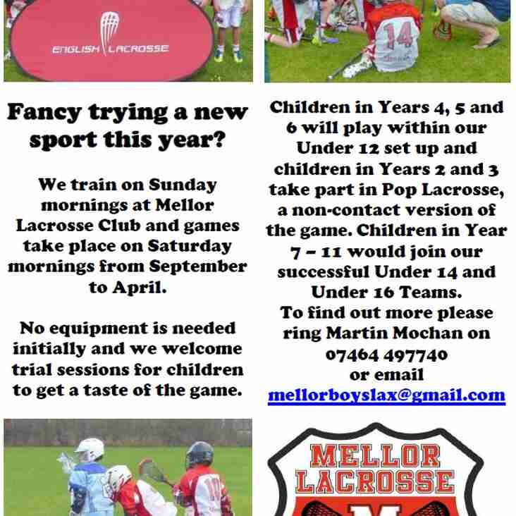 Junior players wanted