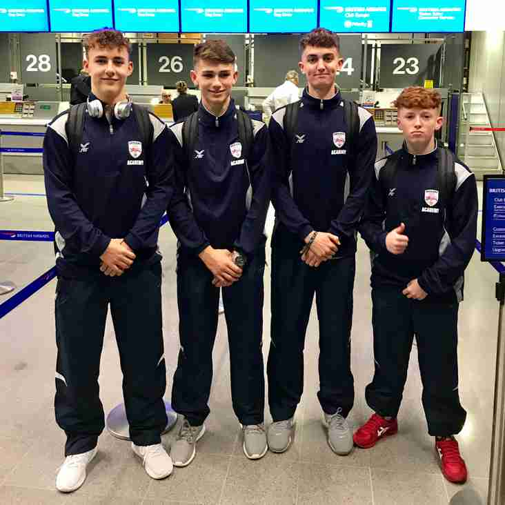 Mellor boys travel to Baltimore with U17 England Academy