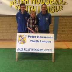 U11's Fair Play Award 2015/16