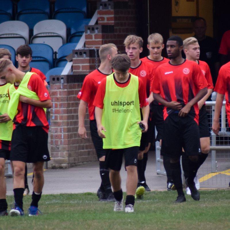 Development beat AFC Aldermaston 1 - 2