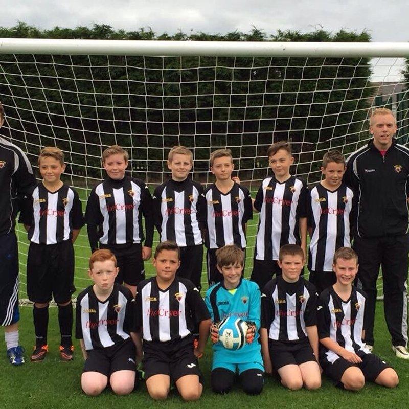 Alnwick Town u 14 Pythons beat Whitley Bay FC 2 - 6