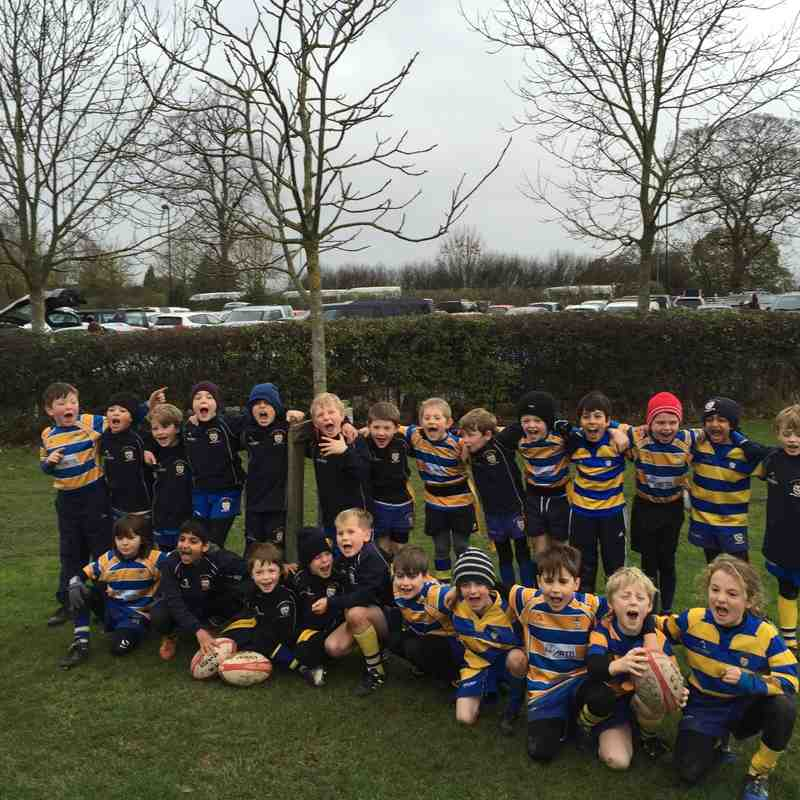 Under 8s Tigers Tag Tournament