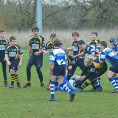 guisborough under 13 against Mowden last weekend