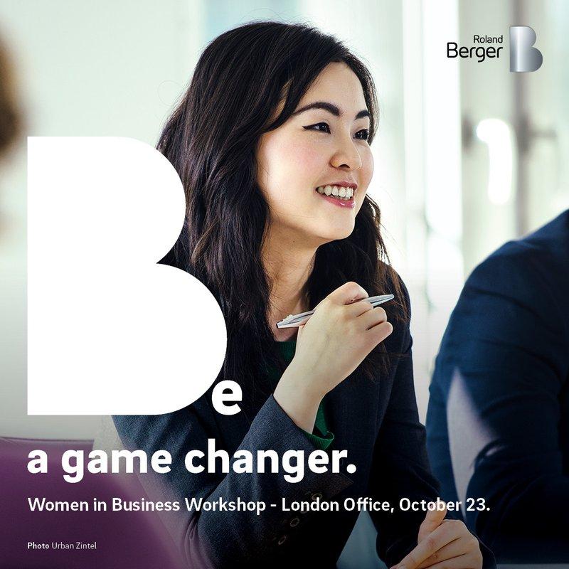 Roland Berger Women in Business Workshop