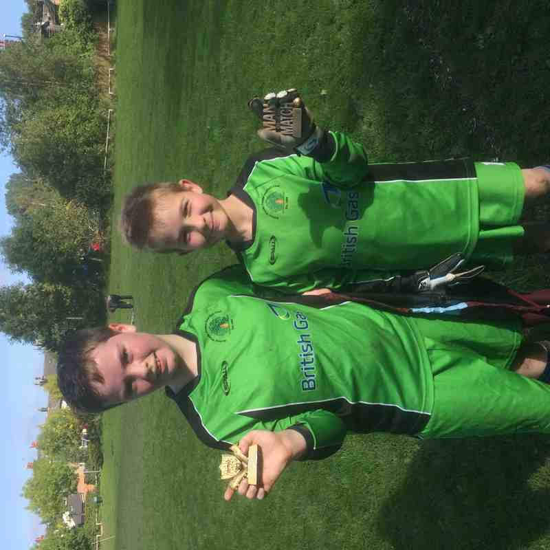 Both keepers got man of the match