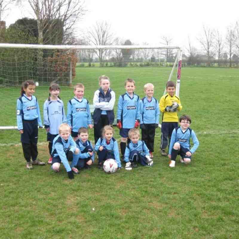 Bloxham Under 7's 2010/11 season