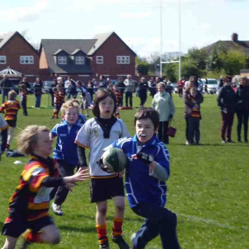 U10s vs Heaton Moor Apr 2012