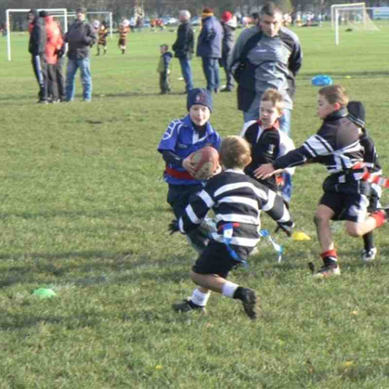 U8s away at Broughton Park Jan 12