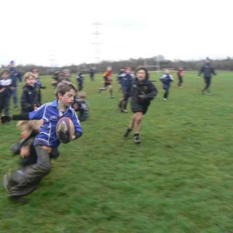 U10s Famous Home Victory Against Toc H  Match 2012