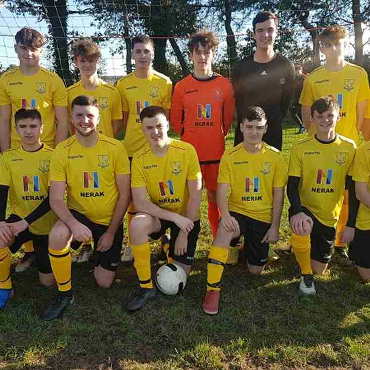 Match Report : Seaside Youth v Ystradgynlais Youth