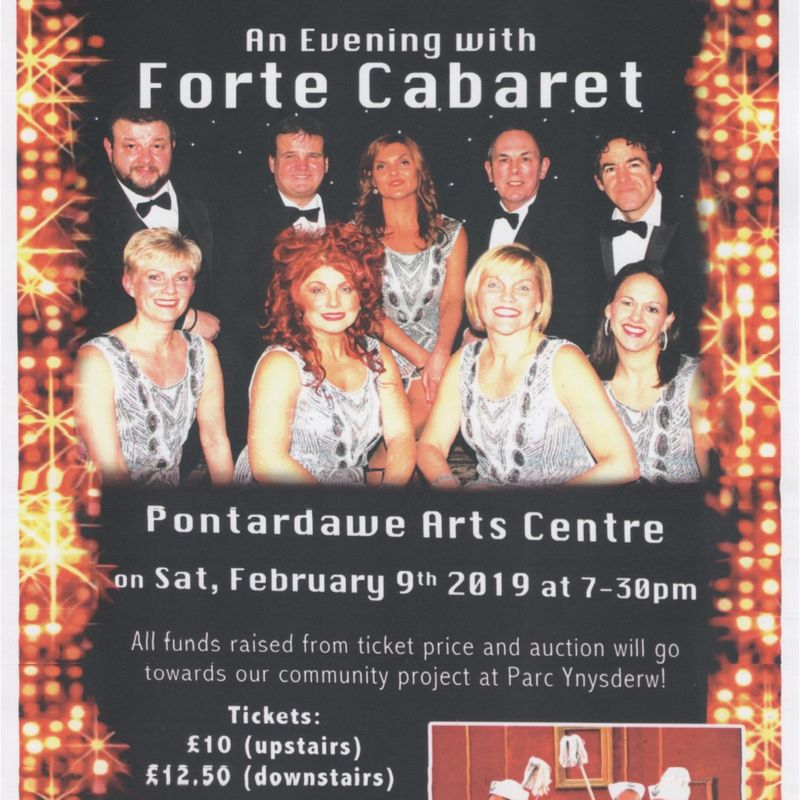An Evening with Forte Cabaret in Pontardawe Arts Centre