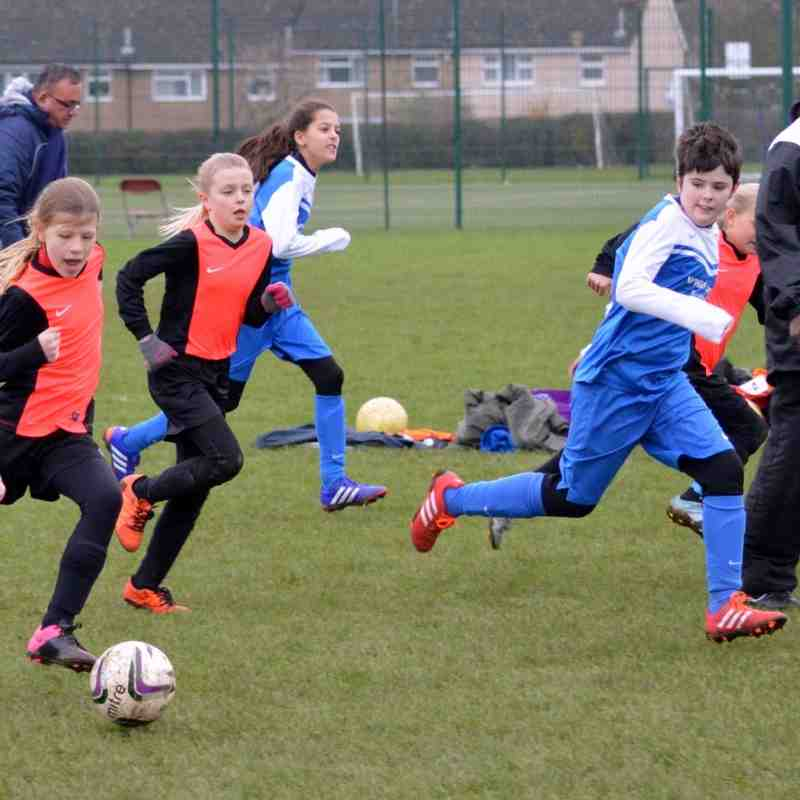 Hitchin Belles U11 v Bury Rangers Home