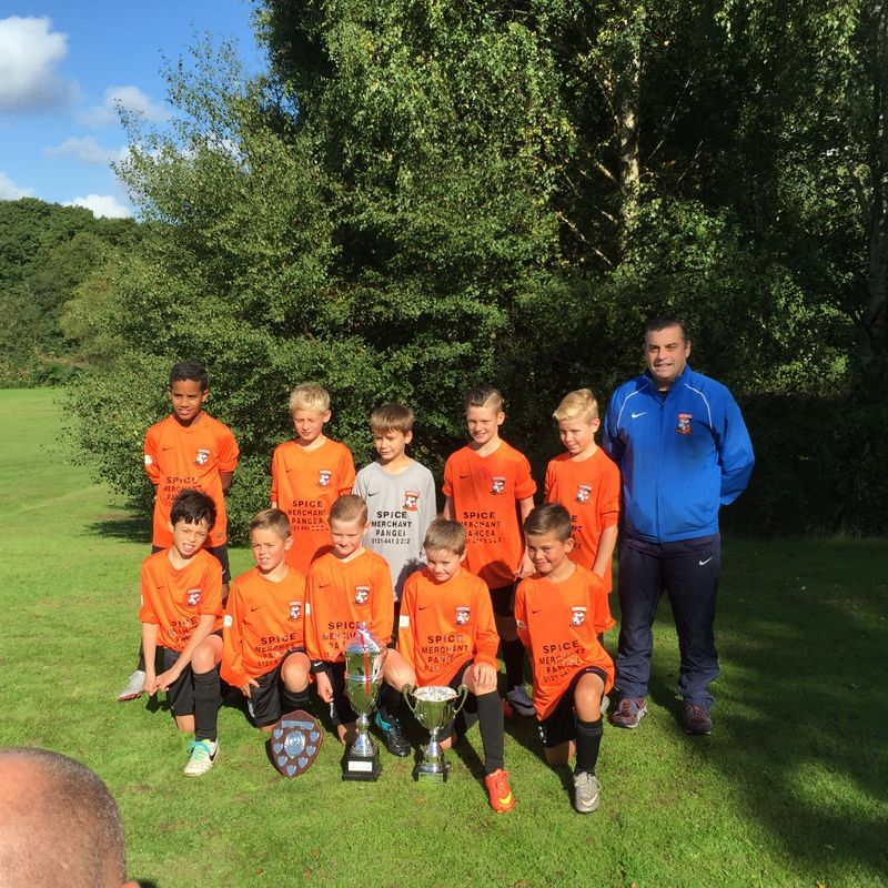 Gary Livingstone U11s beat Tividale Minor 6 - 0