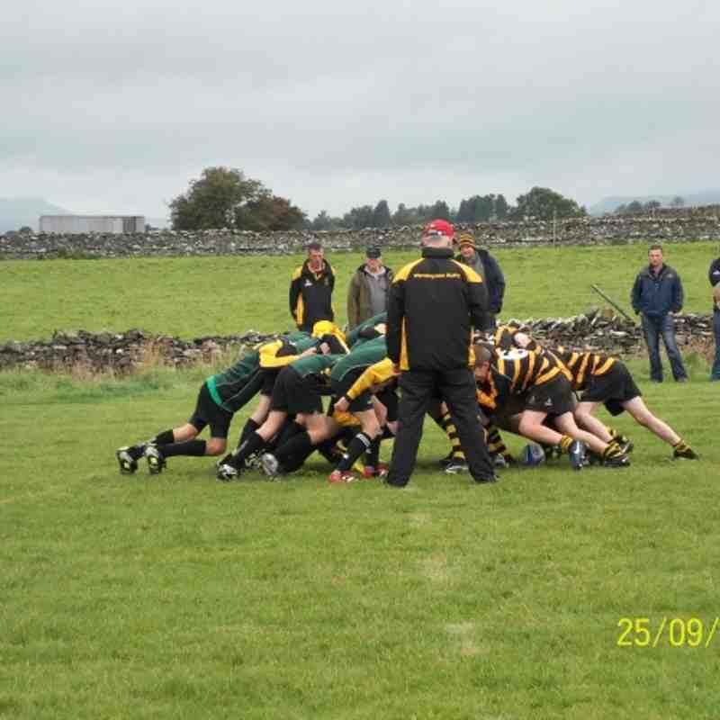 Thirsk U13s at Wensleydale 250911