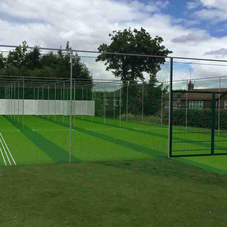 We're raising £10,000 to help fund new cricket nets at Didsbury Cricket Club
