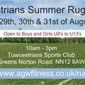 Towcestrians Summer Rugby Camp