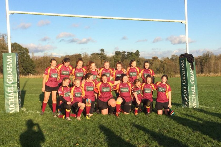 Under 15's Girls lose to Old Northamptonians 25 - 27