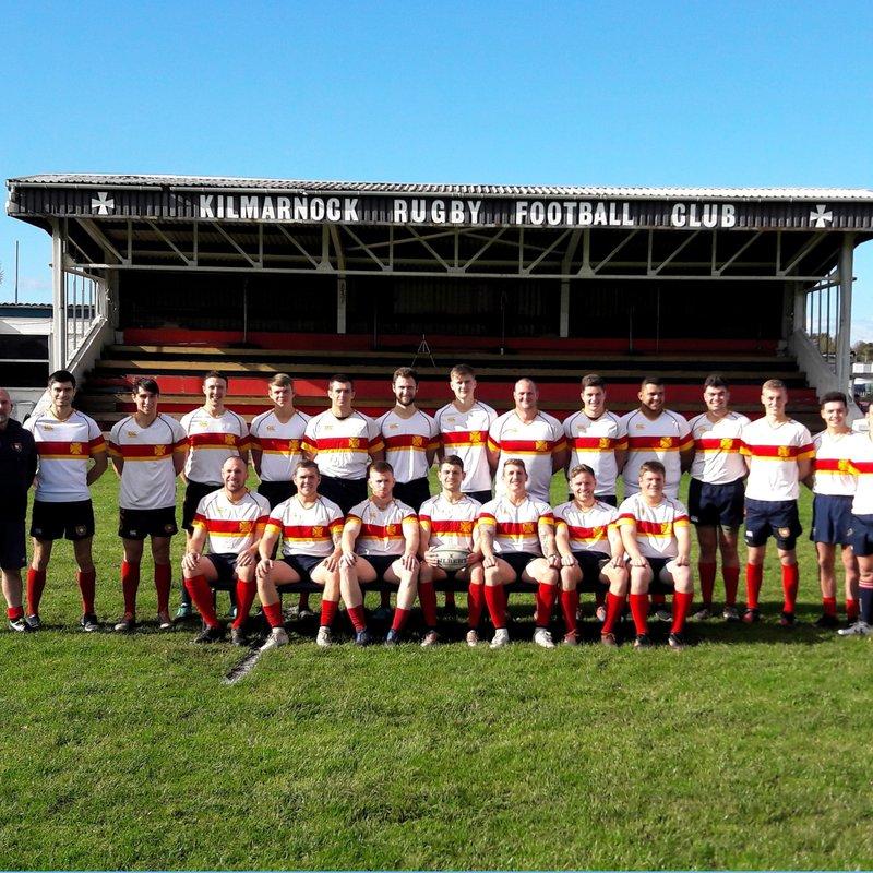 1st Xv beat Cumnock RFC 7 - 15