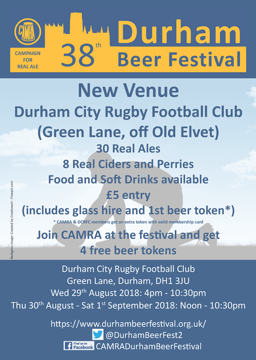 Camra Durham Beer Festival Comes To City News Durham City