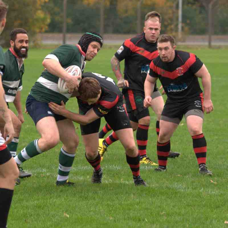 Aldermaston II 39 v 29 Saxons 14/10/17
