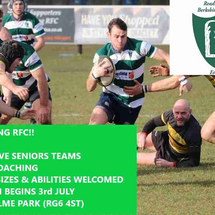 Come join Reading RFC!!!