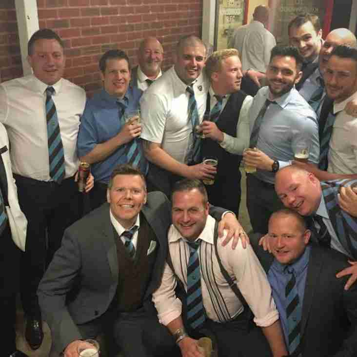 The 2018 Senior Annual Dinner - One Club & Back In The Marquee