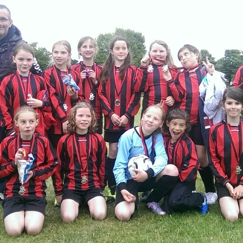 Under 11s Girls Team